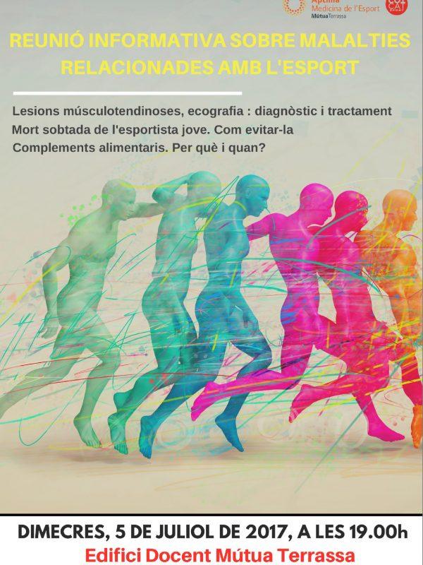 medicina de l'esport xerrada